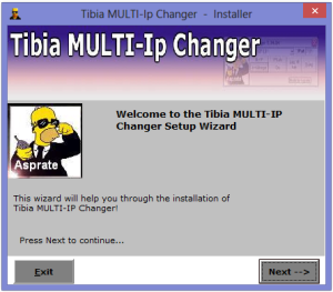 Instalador do Tibia IP Changer