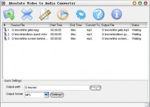 Absolute Video to Audio Converter