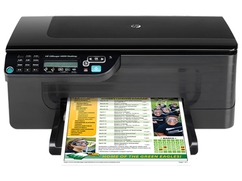 Drivers da HP Officejet 4500 para Windows XP/Vista/7