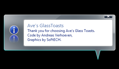 Glass Toasts