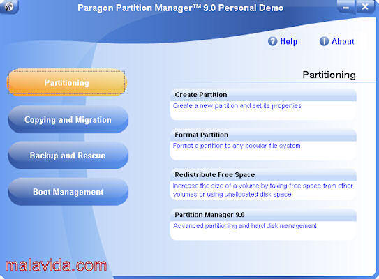 Partition Manager Personal