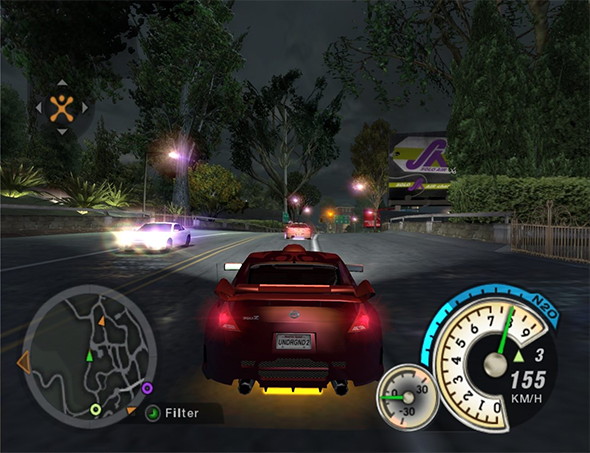 Tradução do Need for Speed: Underground 2