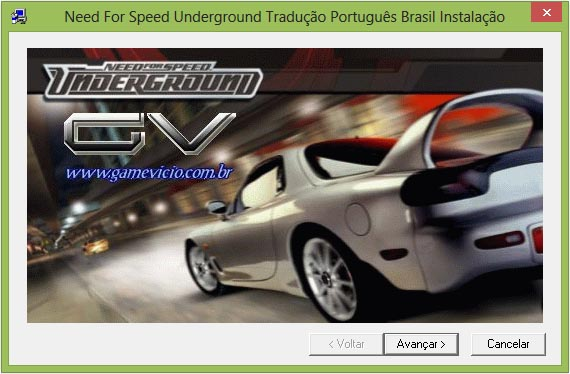 Tradução - Need for Speed: Underground 1