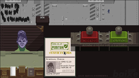 Tradução - Papers, Please