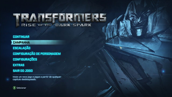Tradução - Transformers: Rise of the Dark Spark