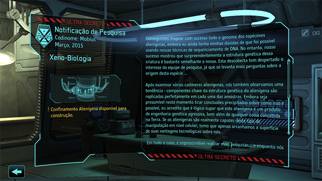Tradução - XCOM: Enemy Unknown