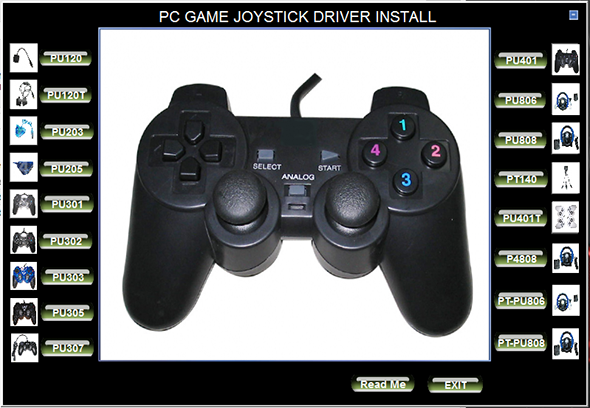 USB Joystick Universal Driver Download