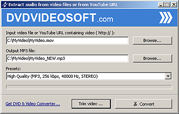 YouTube to MP3 Video Converter